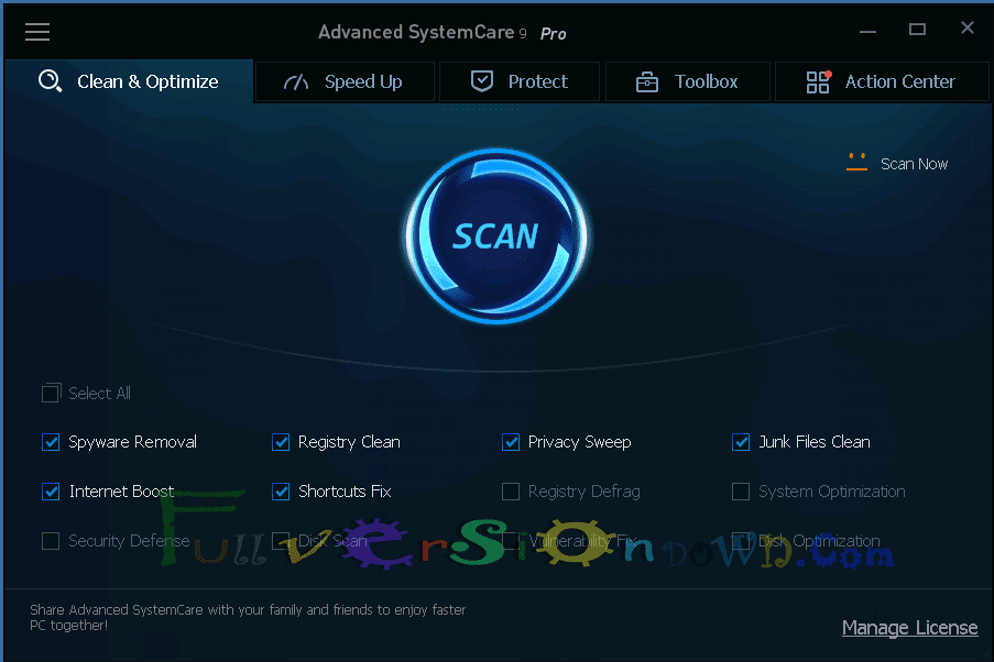 Advanced SystemCare Pro Latest Full