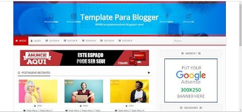Templates Blogger Responsive Galeria