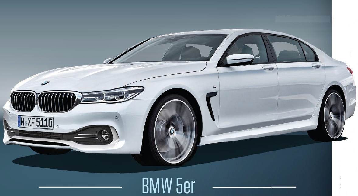 2017 bmw g30 5 series renderings auto bmw review. Black Bedroom Furniture Sets. Home Design Ideas