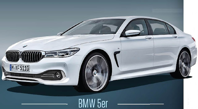 2017 BMW G30 5 Series Renderings