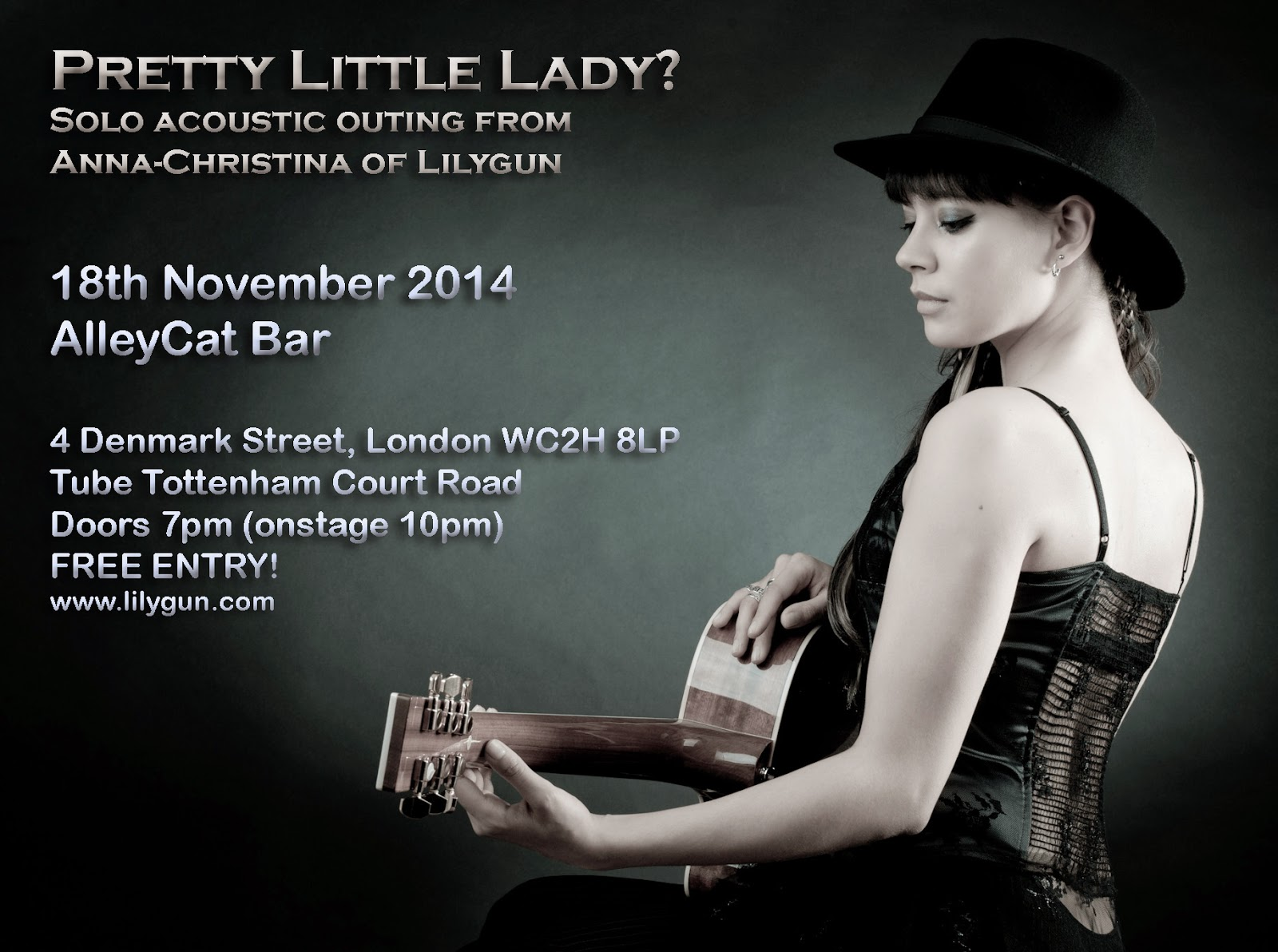 Anna-Christina from Lilygun, Pretty Little Lady? flyer image
