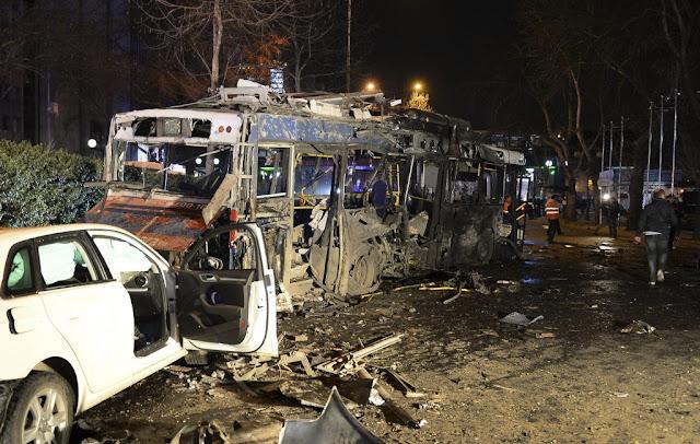 Κλιμάκωση των βομβιστικών επιθέσεων στην Τουρκία