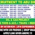 OIL & GAS RECRUITMENT TO ABU DHABI | APPLY NOW