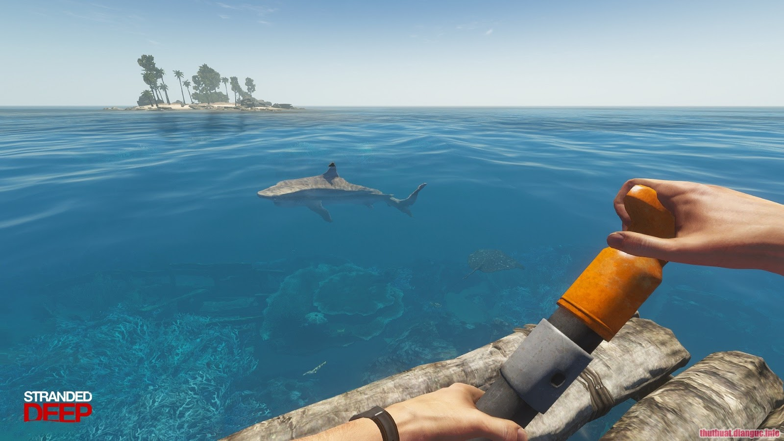 Download Game Stranded Deep Full Crack game sinh tồn đảo hoang