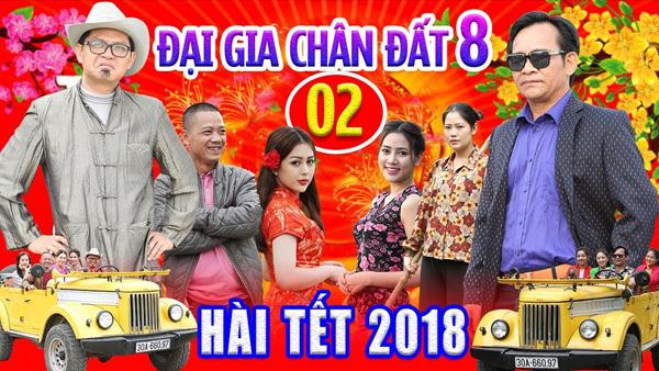 Hài Tết 2018 | Đại Gia Chân Đất 8 – Tập 2 – Bình Trọng, Quang Tèo