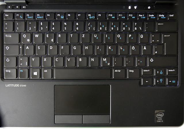 Bàn phím trên Dell latitude E7240