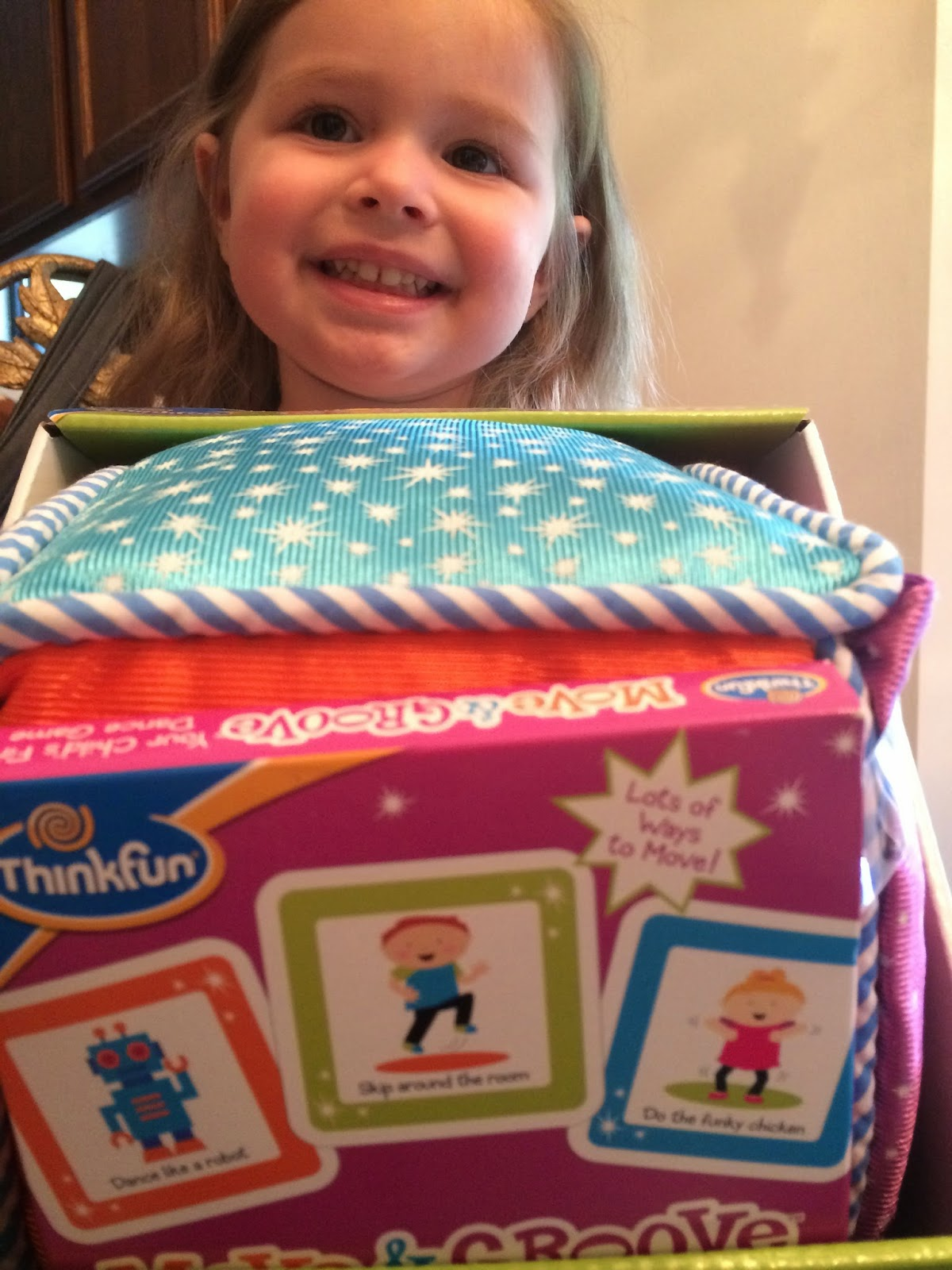 toddler game review move & groove #ThinkFun