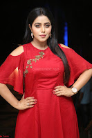 Poorna in Maroon Dress at Rakshasi movie Press meet Cute Pics ~  Exclusive 37.JPG