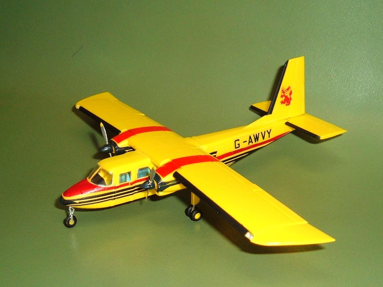 Model Airplane Memories: Airfix Britten-Norman Islander