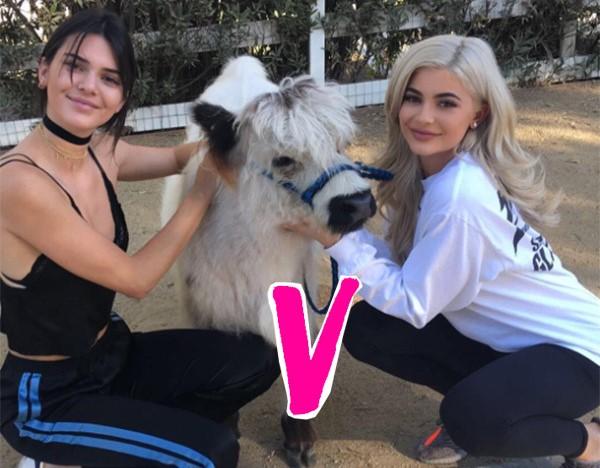 Kylie Jenner's Glam Look V. Kendall's Natural Makeup — Vote For Your Fav!