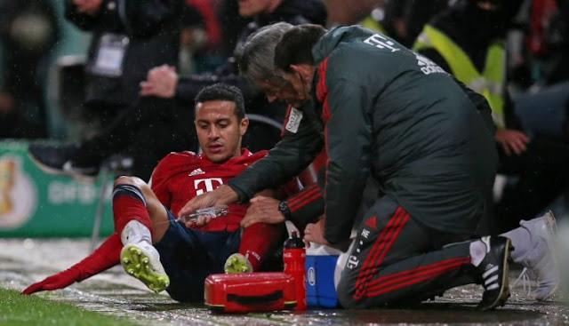 Kondisi Cedera Thiago Alcantara Menghkhawatirkan