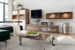 furniture ruang tamu minimalis modern - desain gambar
