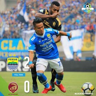 Persib Bandung vs Sriwijaya FC 2-0 (Video Gol Highlights)