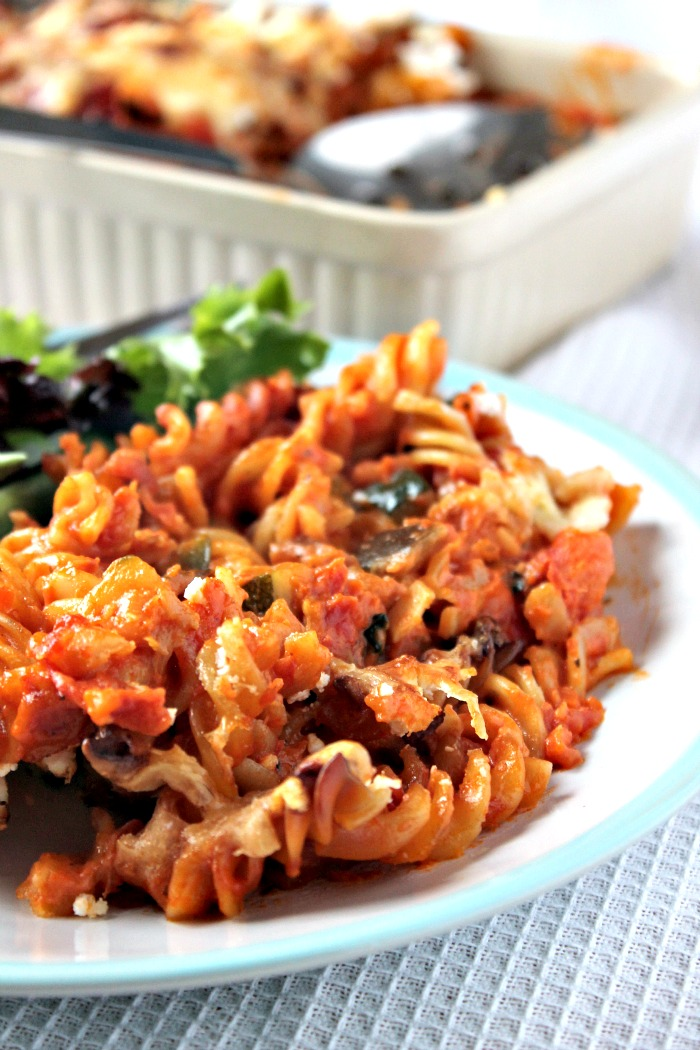 Easy Mediterranean Pasta Bake