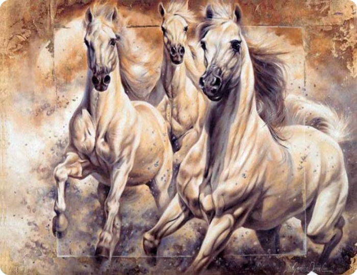 Janice Darr Cua | American Figurative painter | Ladies and horses