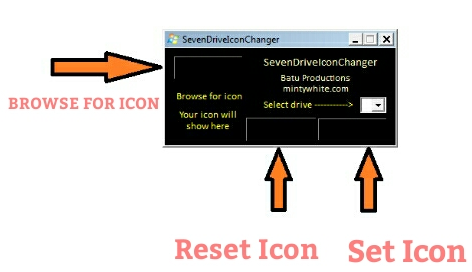 How To Change Drive Icon in Windows.