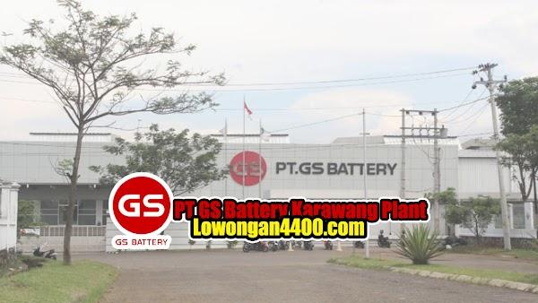 Lowongan Kerja PT GS Battery Karawang Plant 2020