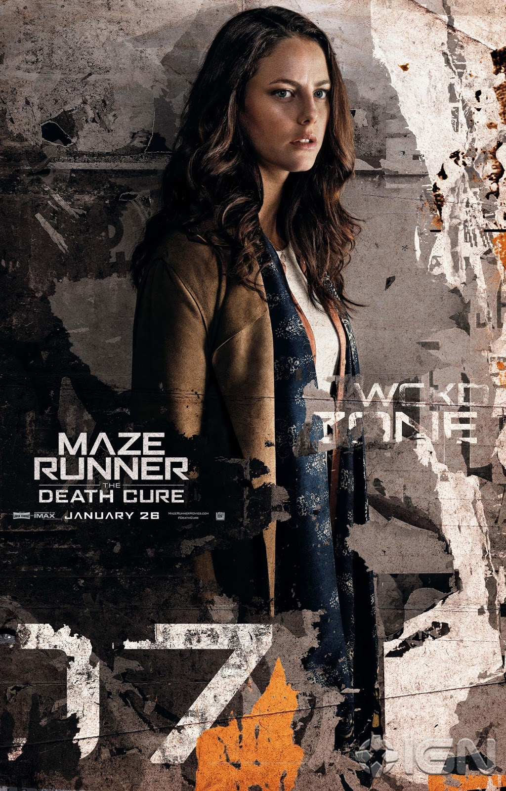 6 New Maze Runner The Death Cure Character Posters