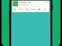 Fb သုံးတဲ့အခ်ိန္ ဂိမ္းေဆာ့ေနတဲ့အခ်ိန္ ေတြဖုန္းလာရင္ ေခၚလာတဲ႕ ဖုန္းနံပါတ္ကုိ ဖုန္းဘားတန္းေပၚကေန ေပၚႏုိင္မယ္႔  Lollipop Call Apk