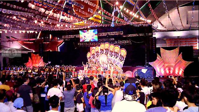 Dinagyang Festival in Aliwan Festival 2017