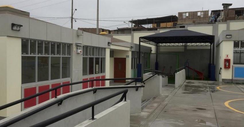 PRONIED: Más de 200 niños de Ticlio Chico mejoraron sus condiciones educativas con renovado colegio de nivel inicial - www.pronied.gob.pe