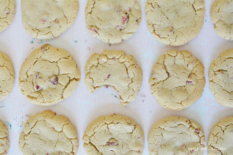 Strawberry Brown Butter Cookies, Strawberry Cookies