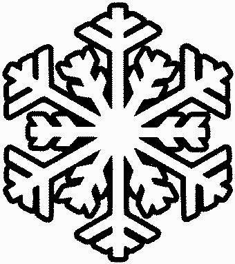 Blog Católico Navideño Copos De Nieve Para Colorear
