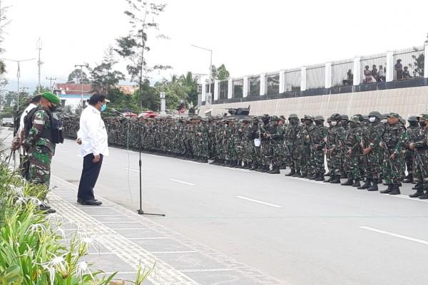 Jhon Richard Banua Ajak Semua Elemen Masyarakat Jaga Kamtibmas di Jayawijaya
