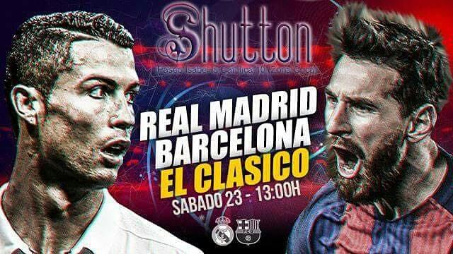 EL Clásico se Juega en Shutton Valladolid