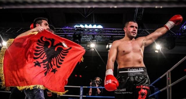 Nuri Seferi won with knockout over Laszlo Hubert