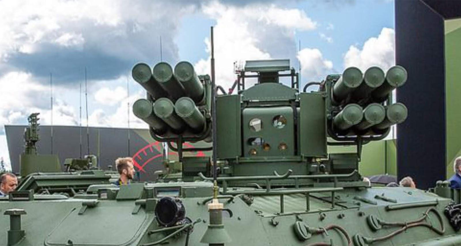 Sistem modular SAM Sosna bisa digunakan disemua kendaraan angkut lapis baja