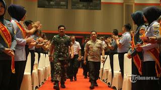 Kapolri dan Panglima TNI Rapat Bahas Pengamanan Closing Ceremony Asian Games