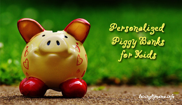 kiddie savings - personalized piggy banks for kids