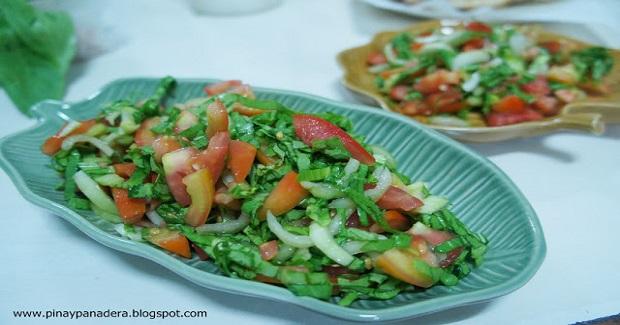 Baguio Pechay Salad Recipe