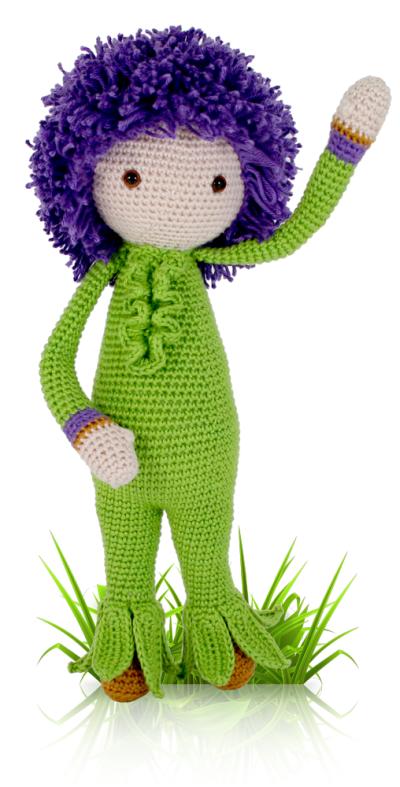 Flower dolls made by Miniş B - crochet pattern by Zabbez   Crochet ...   787x400