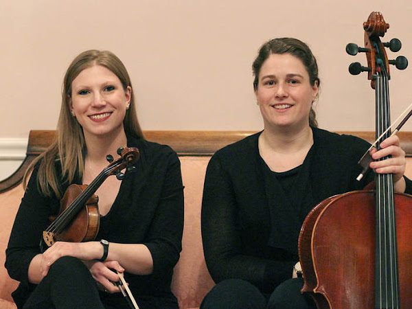 String Trio Performs for Evanston Women's Club Wedding