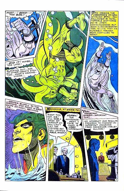 Beware the Creeper v1 #6 dc 1960s silver age comic book page art by Steve Ditko