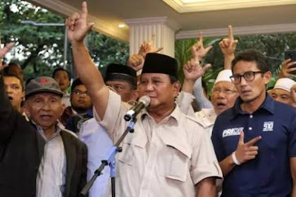 Tragis! Prabowo Tidak Mau Belajar Dari Kesalahan