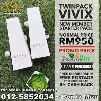 VIVIX SHAKLEE PROMO 2019, JOM JIMAT SEHINGGA RM300!