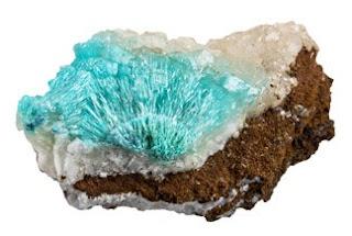Mineral de auricalcita, aspecto, y caracteristicas principales