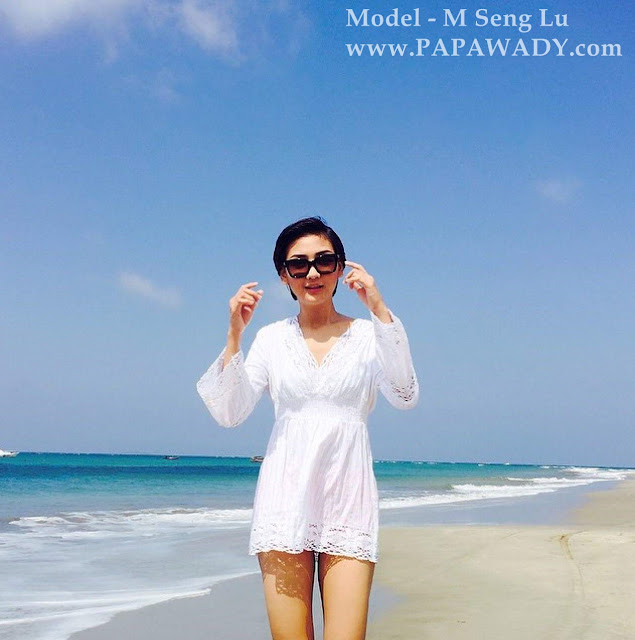 M Seng Lu - 11 Instagram Photos Beautiful Days At The Beach