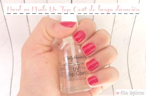 Esmalte de uñas transparente que dura