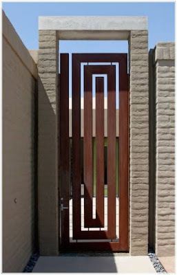 model gerbang daun pintu utama