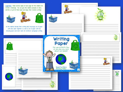 earth writing paper Couple earth day worksheets with earth science worksheets for the perfect focus on learning and the planet we reading & writing how do you make recycled paper.