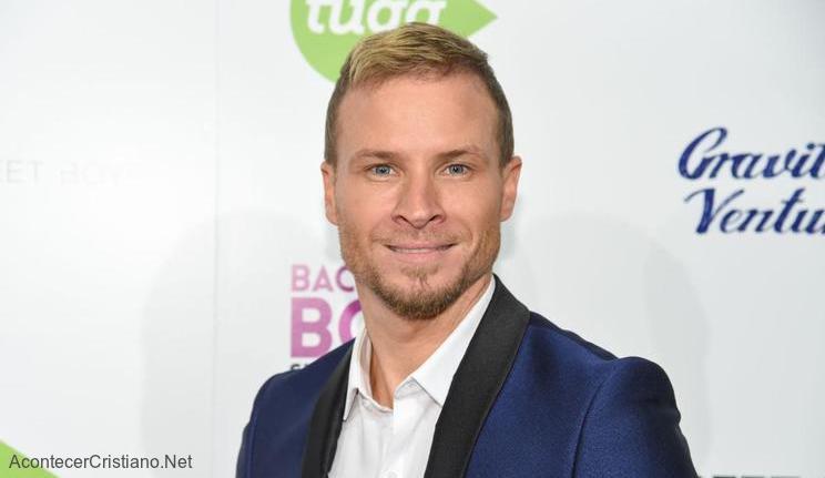 Vocalista cristiano de Backstreet Boys, Brian Littrell
