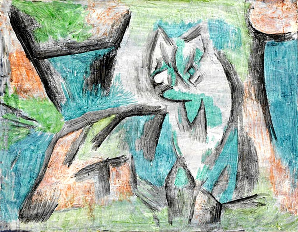 A kind of cat Paul Klee