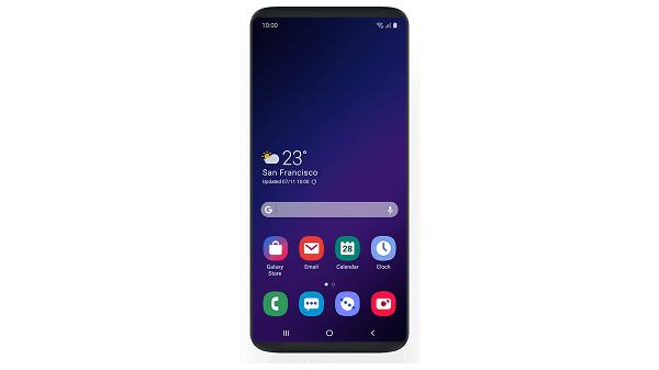 واجهة سامسونج الجديدة OneUI قد لاتصل لهاتفي Galaxy S8 و Note 8