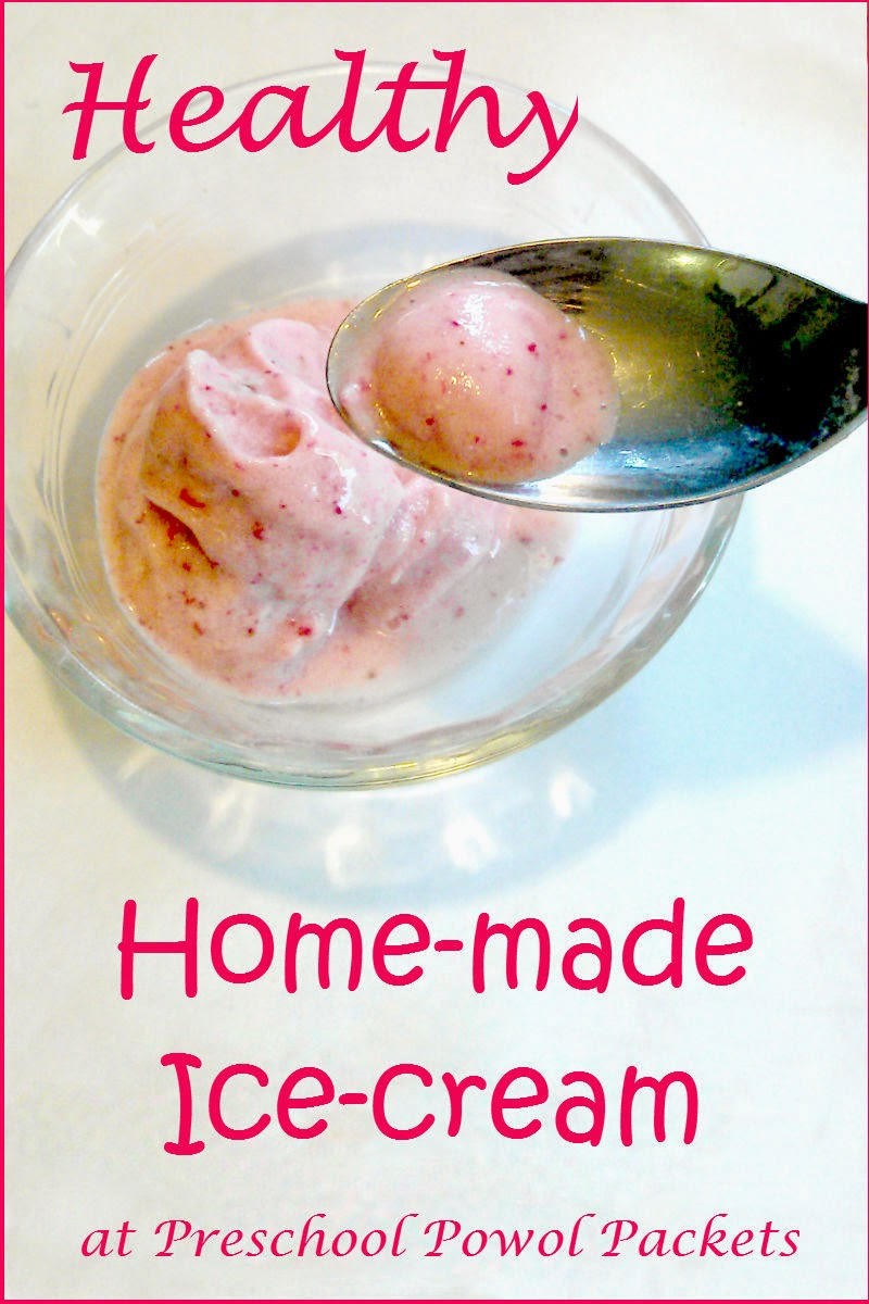 Healthy Homemade Ice Cream