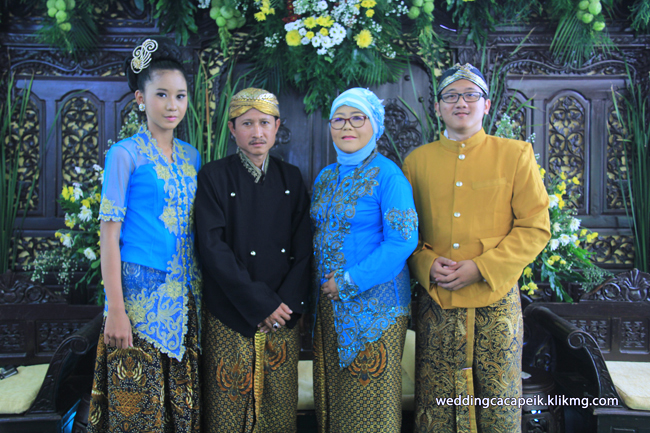 Foto Liputan Pernikahan Chaca & Peik [ 06 - Foto Keluarga & Kerabat  ] - Foto Oleh : Klikmg Fotografer Wedding Purwokerto