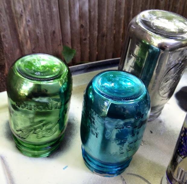 Spray Paint for Glass Mason Jars